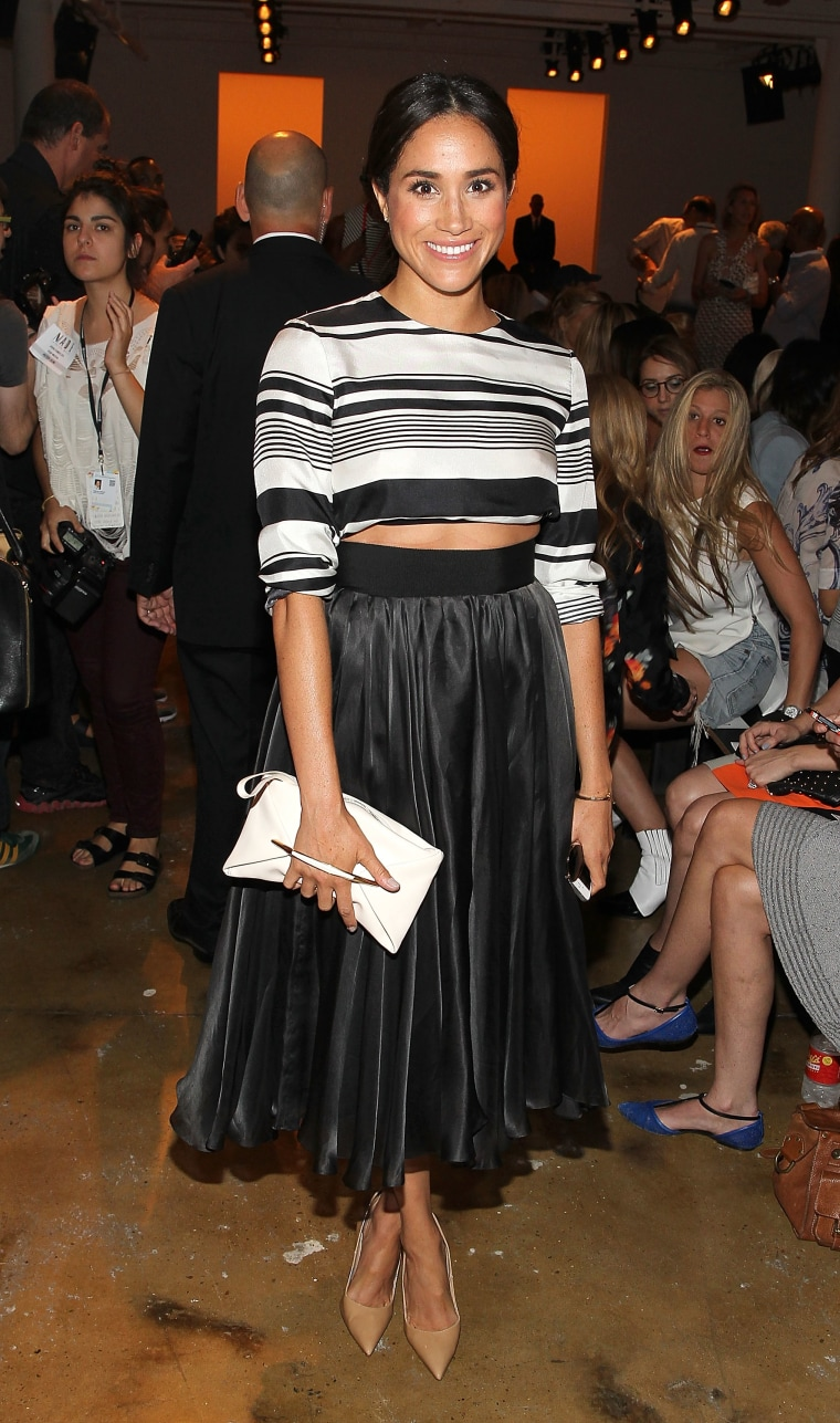 Peter Som - Front Row & Backstage - MADE Fashion Week Spring 2015