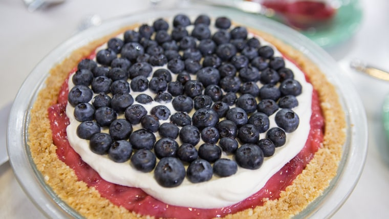 Shay Shull's Red, White & Blueberry Pie