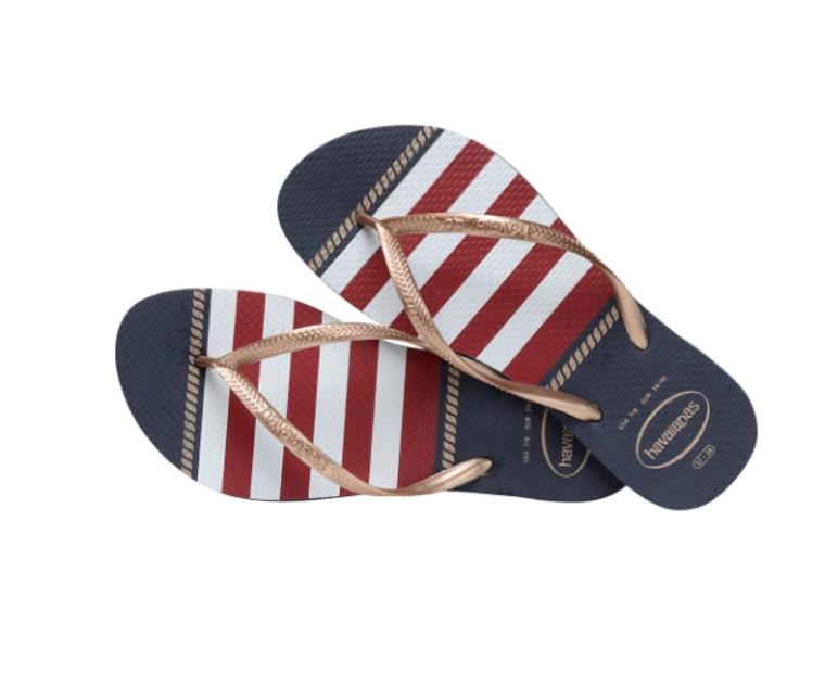 havaianas slim navy sandals