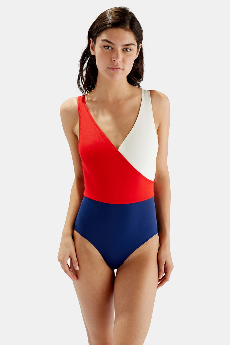 Solid and Striped Ballerina swimsuit