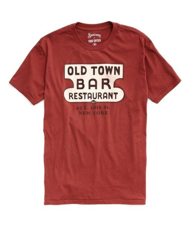 Todd Snyder Speakeasy Old Town t-shirt