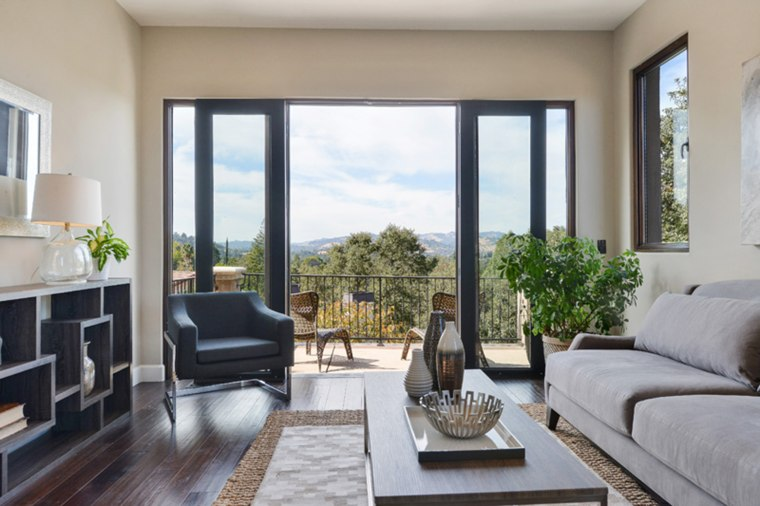 The home boasts beautiful views of Mt. Diablo.