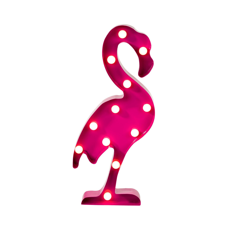 flamingo marquee light from Dormify