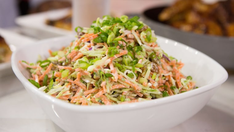 Broccoli and Carrot Coleslaw