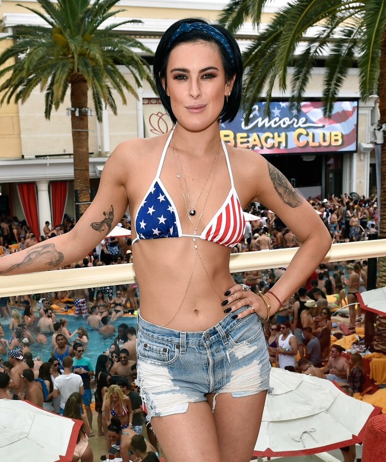 Rumer Willis Celebrates July 4 At Encore Beach Club, Wynn Las Vegas