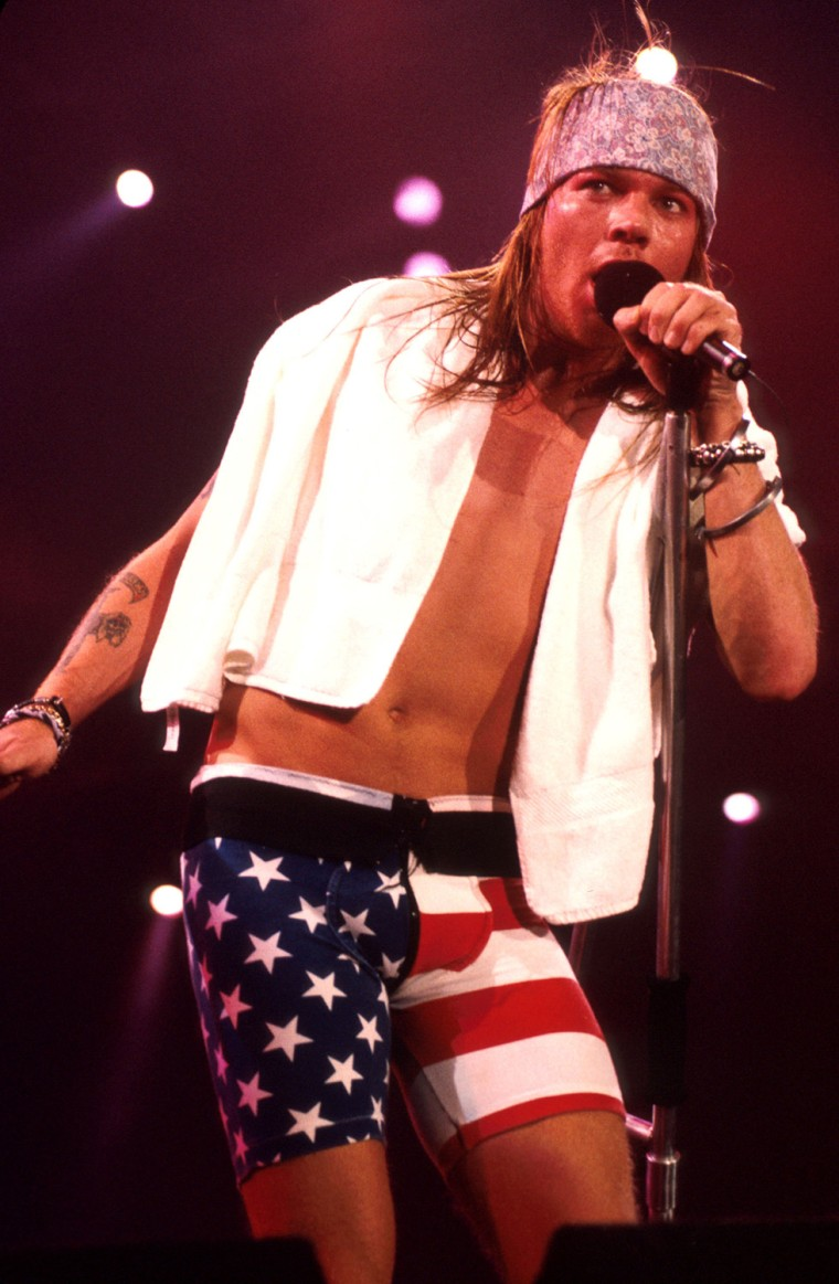 Axl Rose - File Photo's