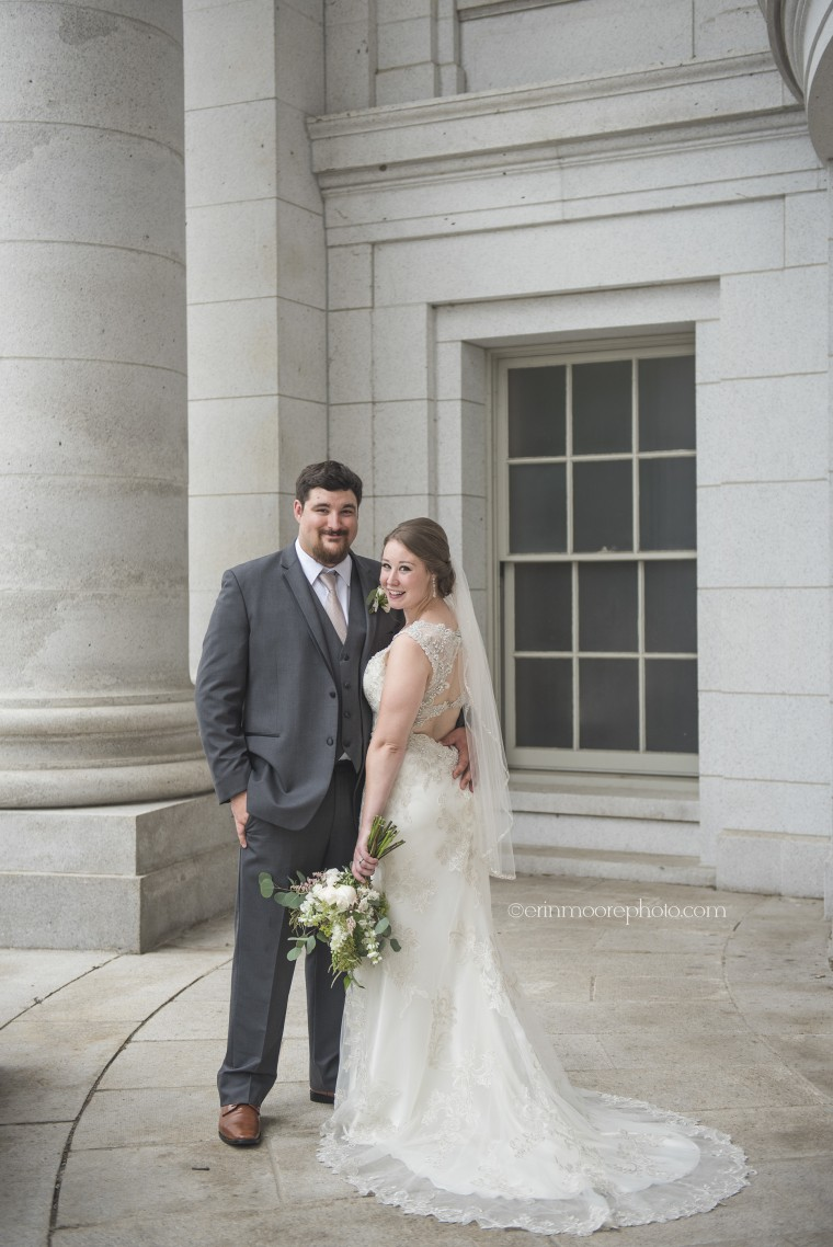 Andria and Jake Farthing. The bride said her cousin and new husband have become close friends.