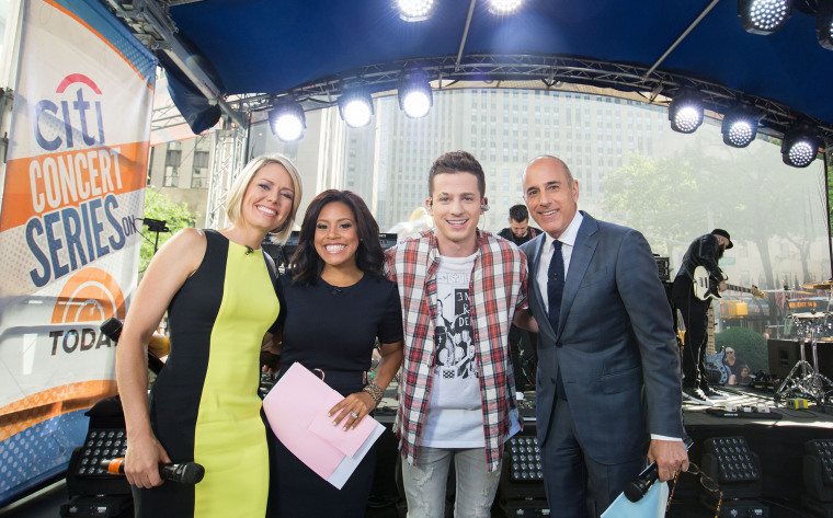 Charlie Puth on TODAY