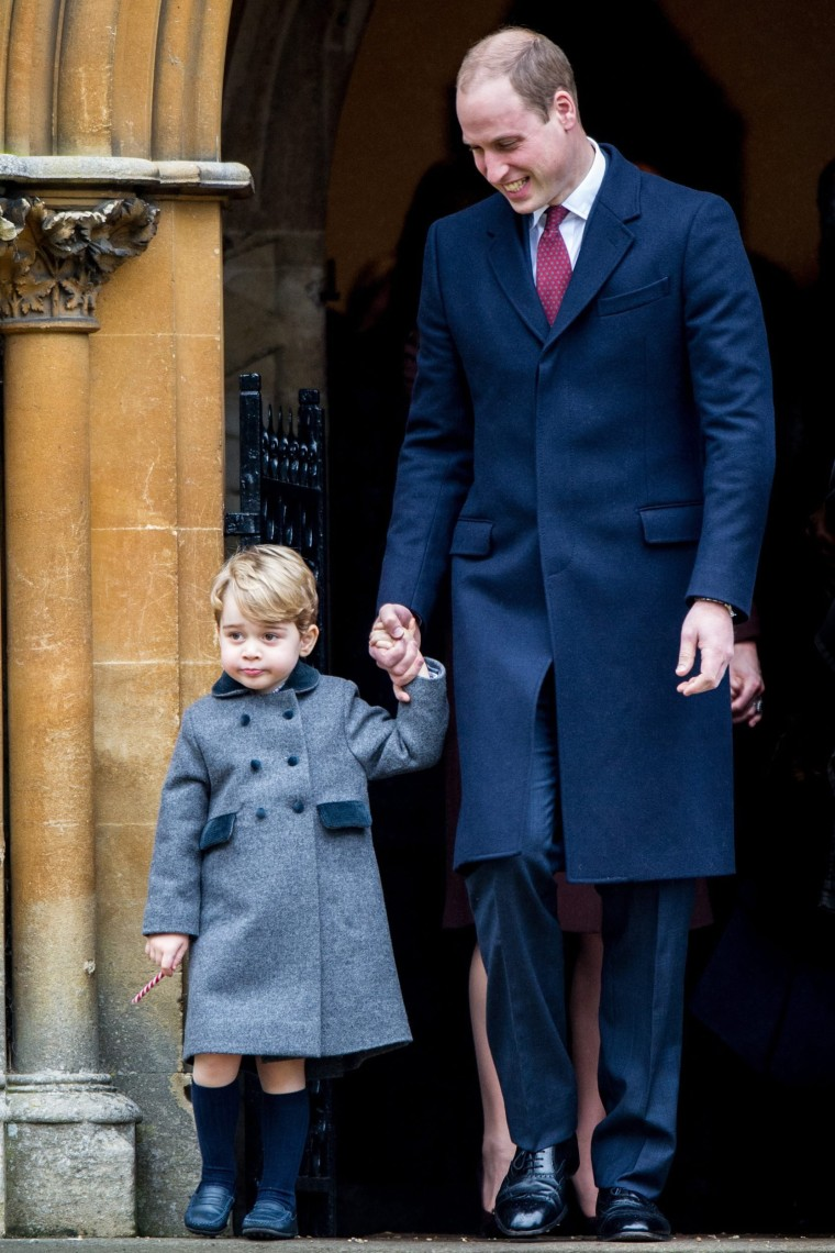 Image: British Royal Family Attends Sandringham Christmas Day Service