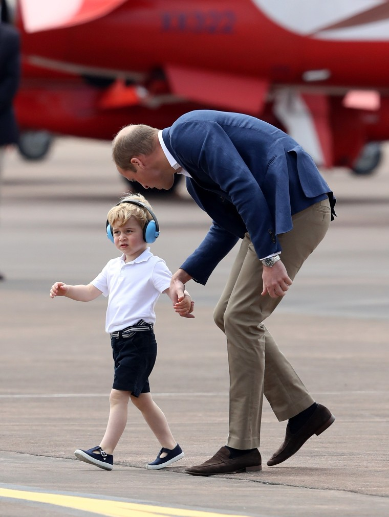 Image: The Duke & Duchess Of Cambridge Visit The Royal International Air Tattoo
