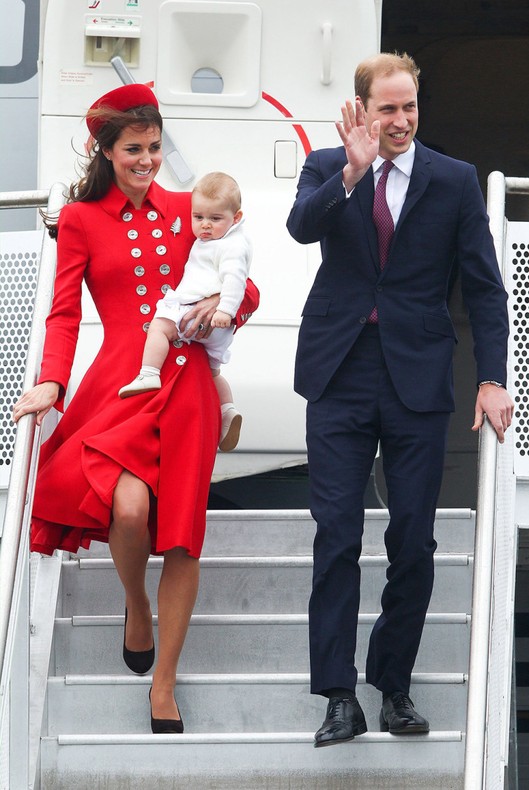 Image: BESTPIX - The Duke And Duchess Of Cambridge Tour Australia And New Zealand - Day 1