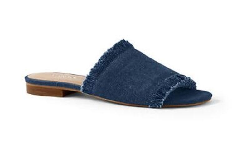 Women's Fringe Slide Sandals