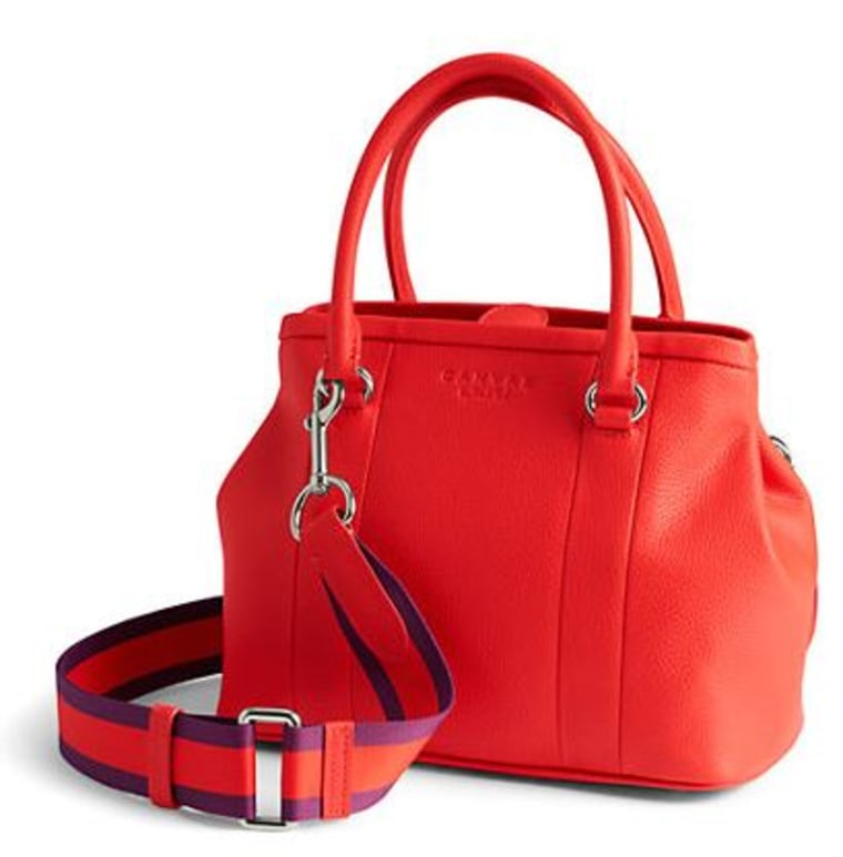 Women's Pebbled Leather Small Tote