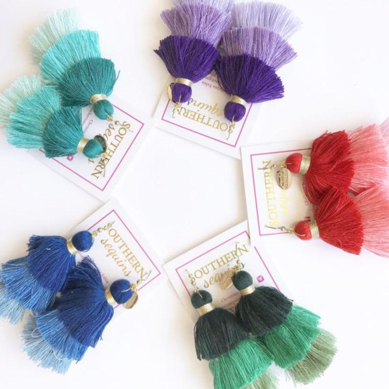 Lola Tassel Earrings