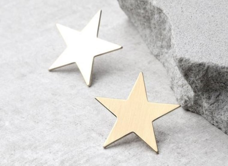Top of the Class Gold Star Earrings