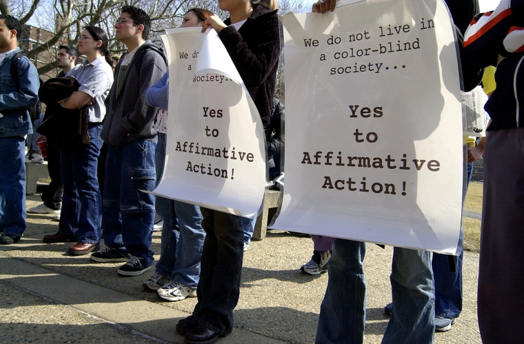 MIT Students Rally In Support Of Affirmative Action