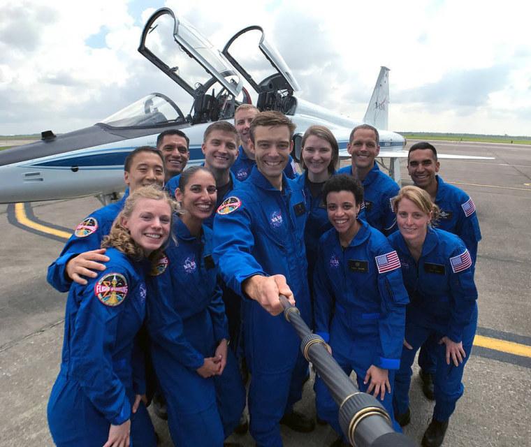 Image: US NASA astronauts
