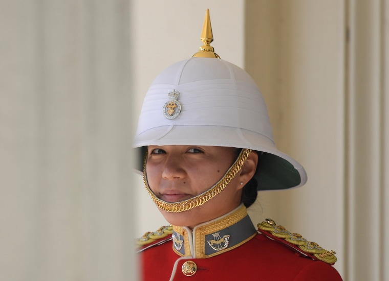 Image: Couto prepares to command the Queen's Guard
