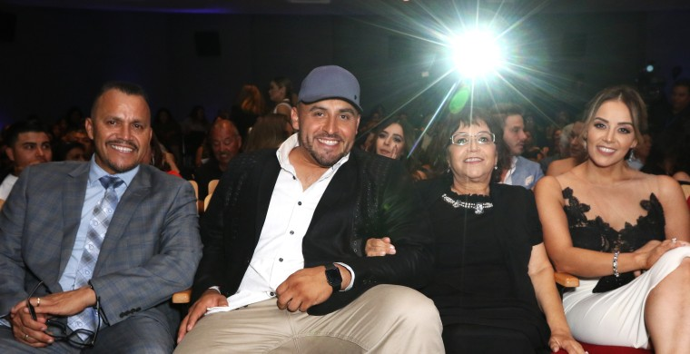 "Image: Rivera Family at Telemundo's ""Jenni Rivera: Mariposa De Barrio"" Screening"