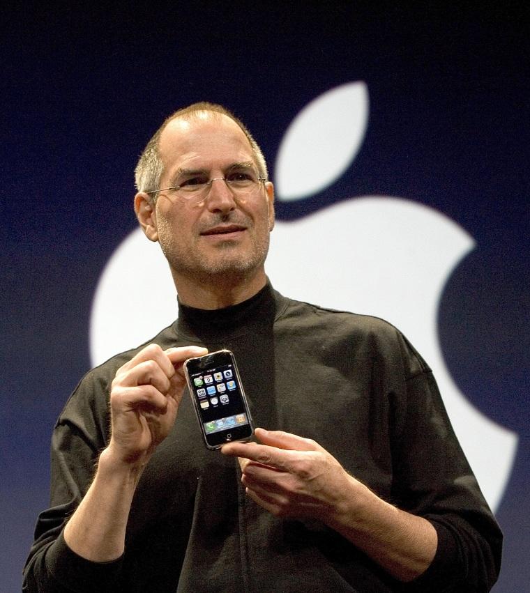 Image: Apple CEO Steve Jobs