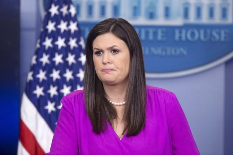 Image: White House Deputy Press Secretary Sarah Huckabee Sanders