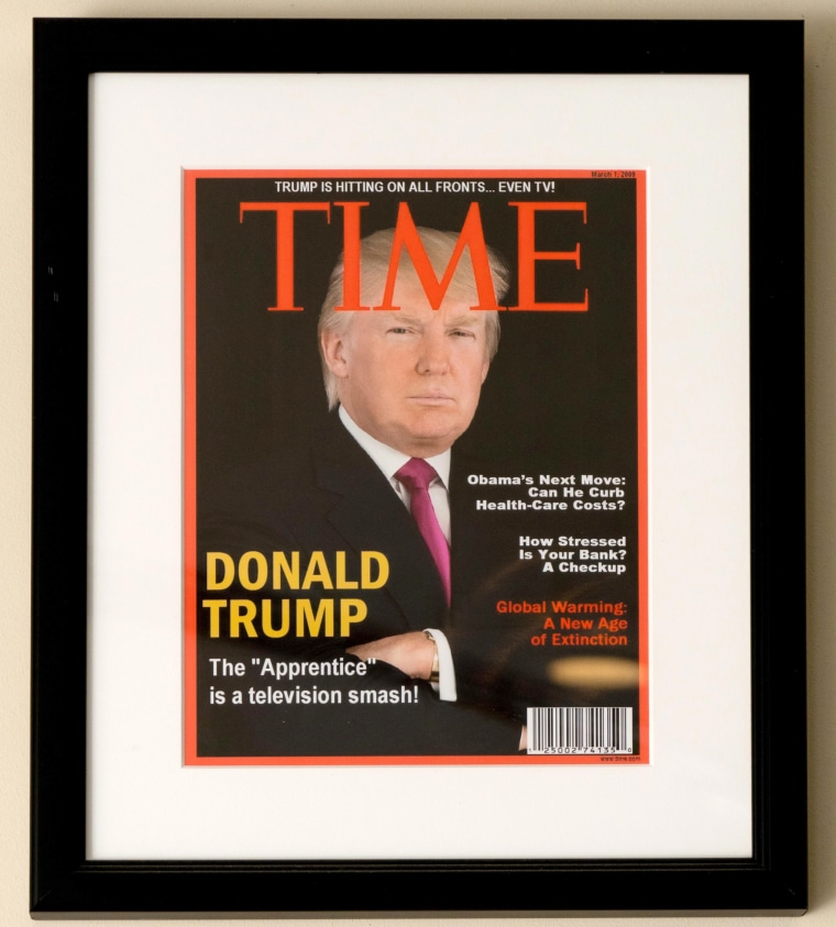 Image: Framed TIME cover of President Donald Trump