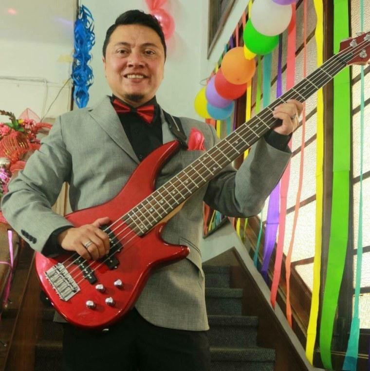 Jhonnatan Espinosa, member of the band 250 Milligrams