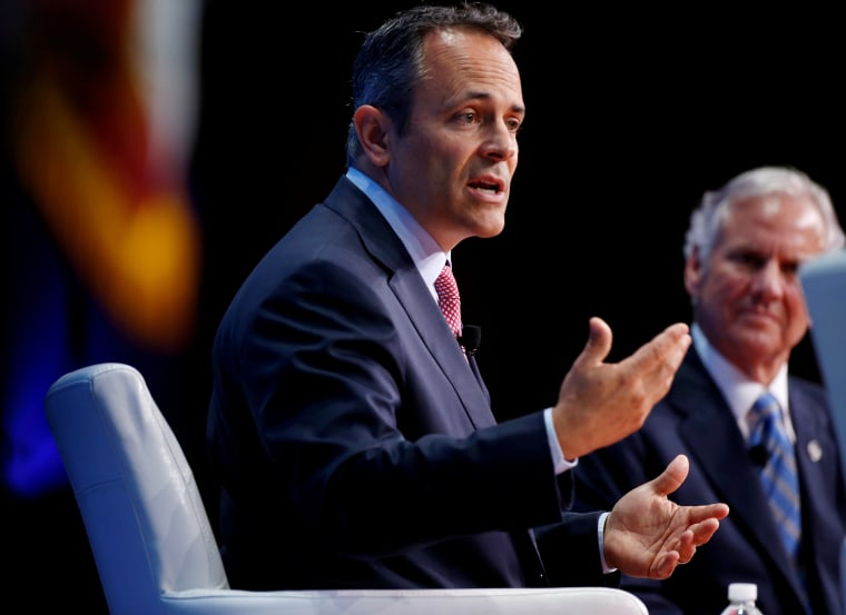 Image: Governor of Kentucky Matt Bevin speaks at 2017 SelectUSA Investment Summit in Oxon Hill, Maryland