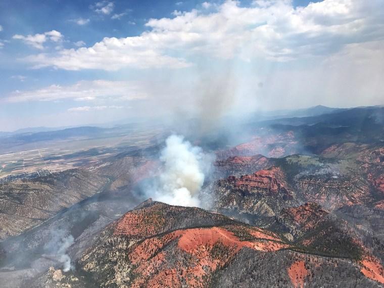 Image: Brian Head wildfire in Utah