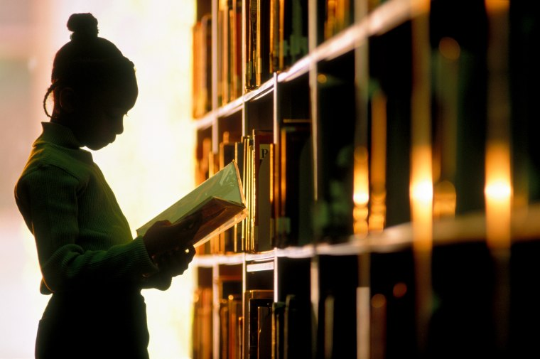 Image: Young Female Student in Silhouette