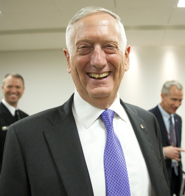 Image: U.S. Secretary for Defense Jim Mattis