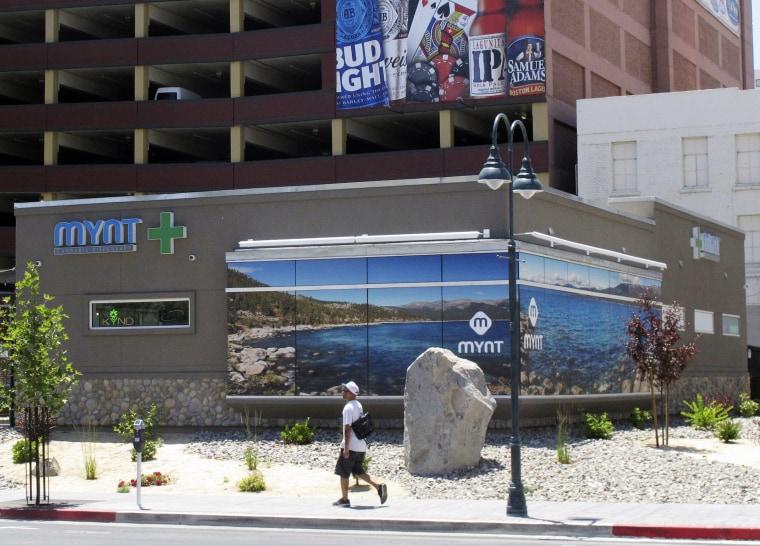 Image: Nevada dispensary