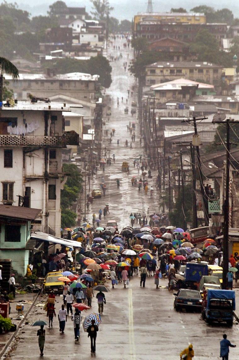 Image: LIBERIA Street