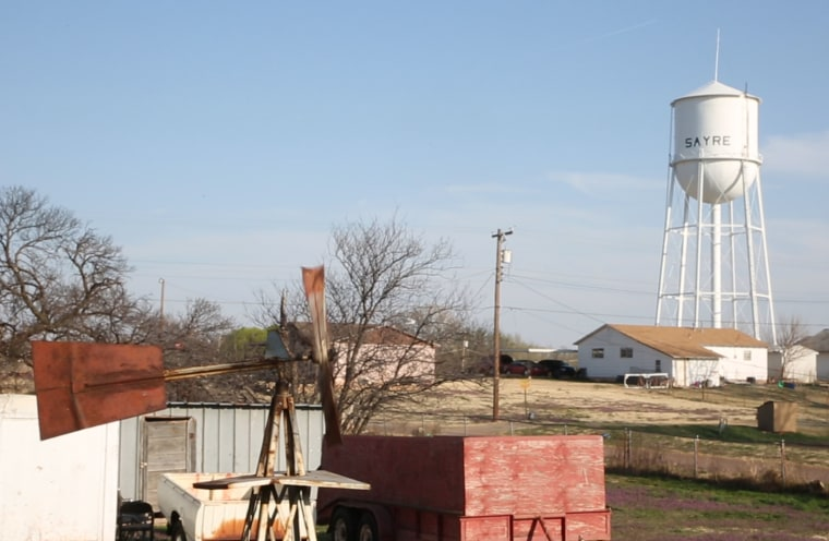 Image: Sayre, Oklahoma
