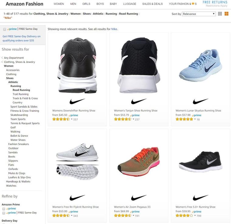 En Para A Ba89c0 Nike Zapatos Vender Empezar Amazon z6qnFxOB