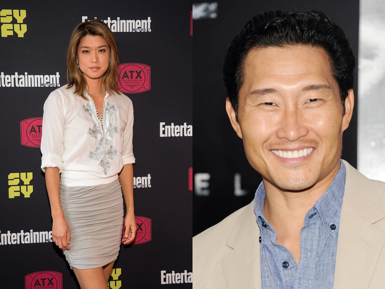 "Grace Park and Daniel Dae Kim have departed CBS' ""Hawaii Five-0"""