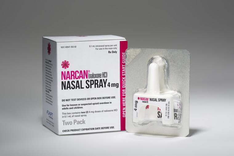 Image: Narcan Naloxone Spray