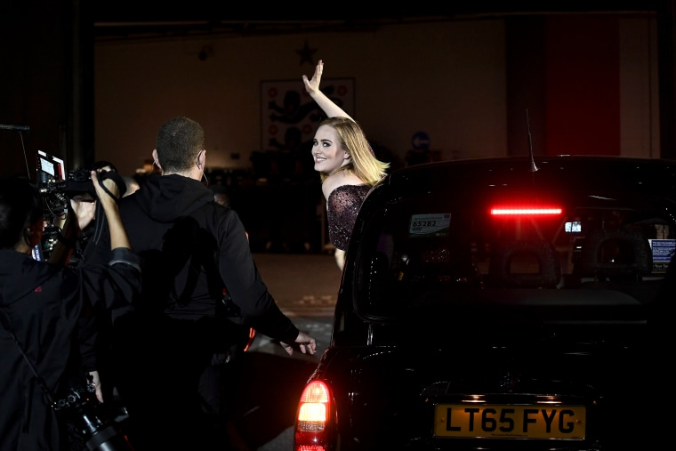Image: Adele performs at Wembley Stadium on June 28, 2017 in London, England.