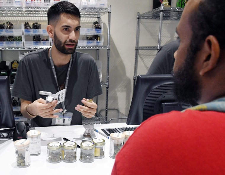 Image: Recreational Use Of Marijuana Becomes Legal In Nevada