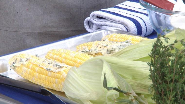 Smoked corn