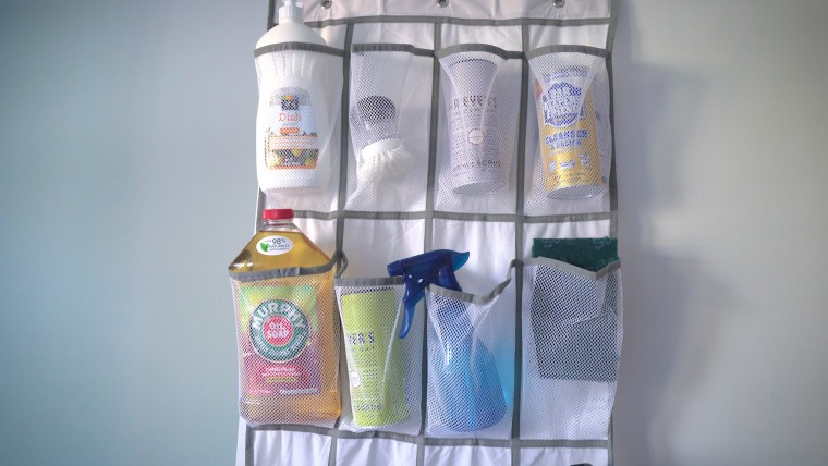 Organizing hack cleaning supplies