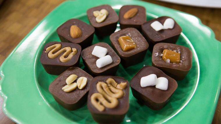 Shauna Sever's Ice Tray Chocolates