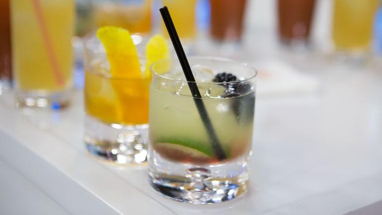 Tequila Bramble