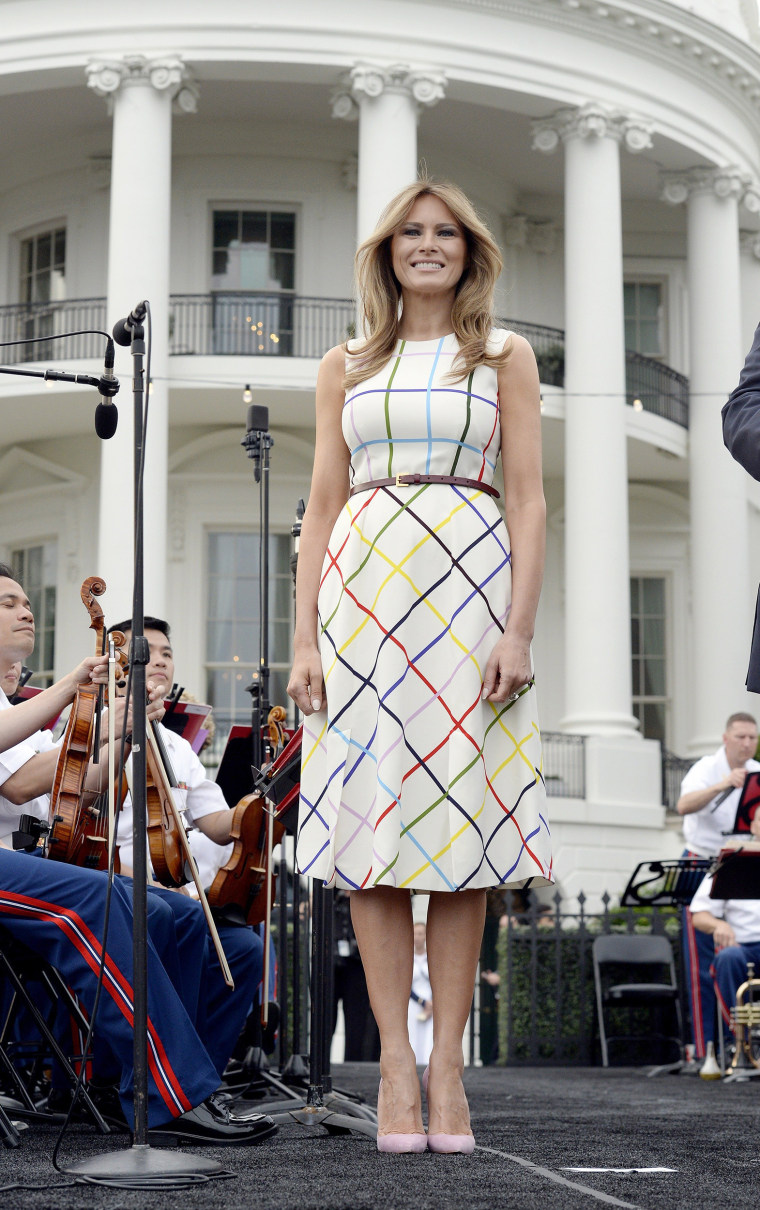 Image: President Trump and First Lady Melania Trump host the Congressional Picnic  - DC