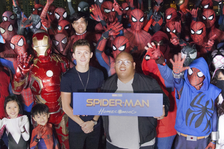 "Image: ""Spider-Man: Homecoming""  Red Carpet Fan Event"