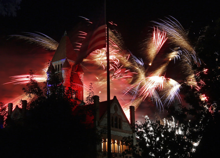 Image: Annual Independence Day Celebration in Sulphur Springs, Texas