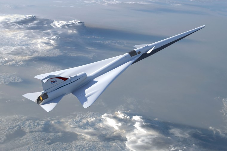 NASA's Quiet Supersonic Transport (QueSST) aircraft design is moving on to its next phase after passing a preliminary design review.