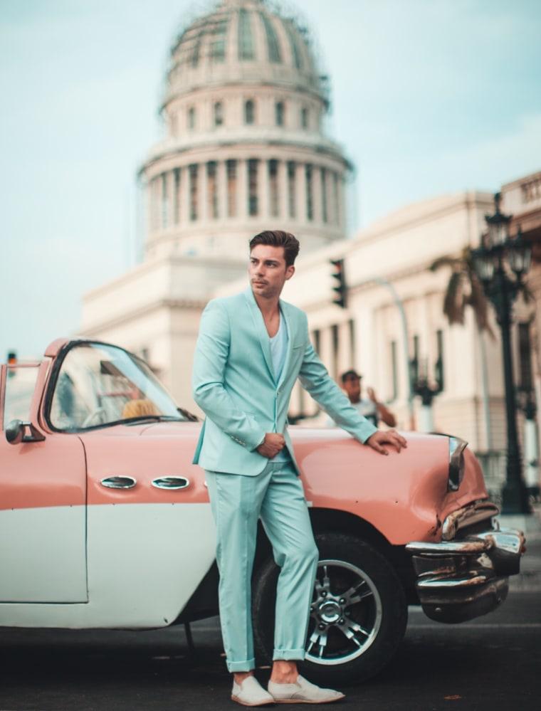 Image: Darek Michael Wajda in Cuba.