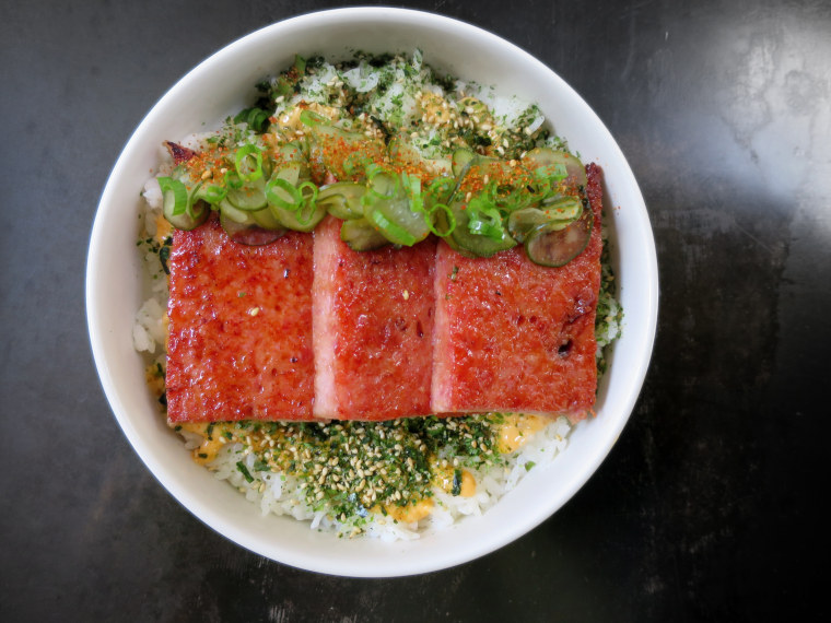 At Liholiho Yacht Club in San Francisco, Chef Ravi Kapur makes an in-house version of Spam.