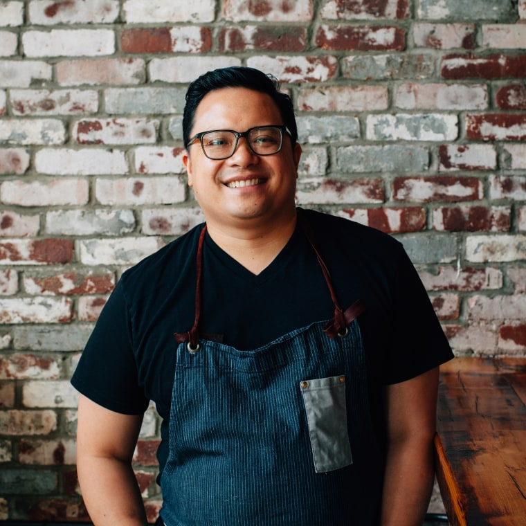 "Dale Talde, chef and author of ""Asian-American: Proudly Inauthentic Recipes from the Philippines to Brooklyn."""
